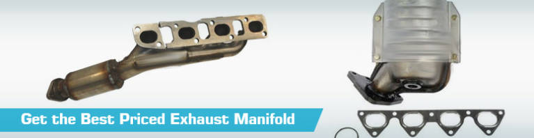 Replacement Exhaust Manifold - Headers Gaskets  Bolts