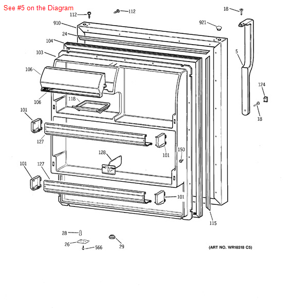 whirlpool refrigerator assembly