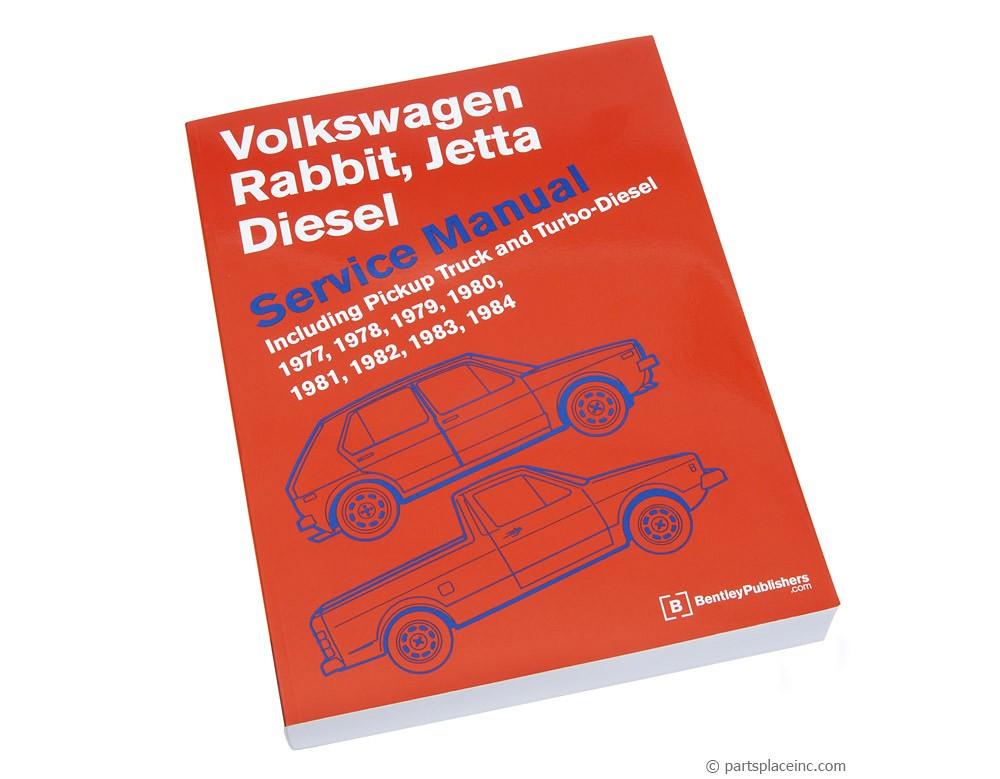 VW MK1 Diesel Bentley Repair Manual - Free Tech Help