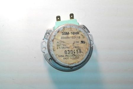 Microwave Turntable Motor SSM-16HR 6549W1S011B PartsReadyOnline