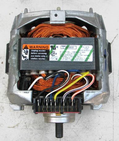 Whirlpool Kenmore Washer Motor 8529935 1/2HP 120 Voltz 60HZ C68PXCEW
