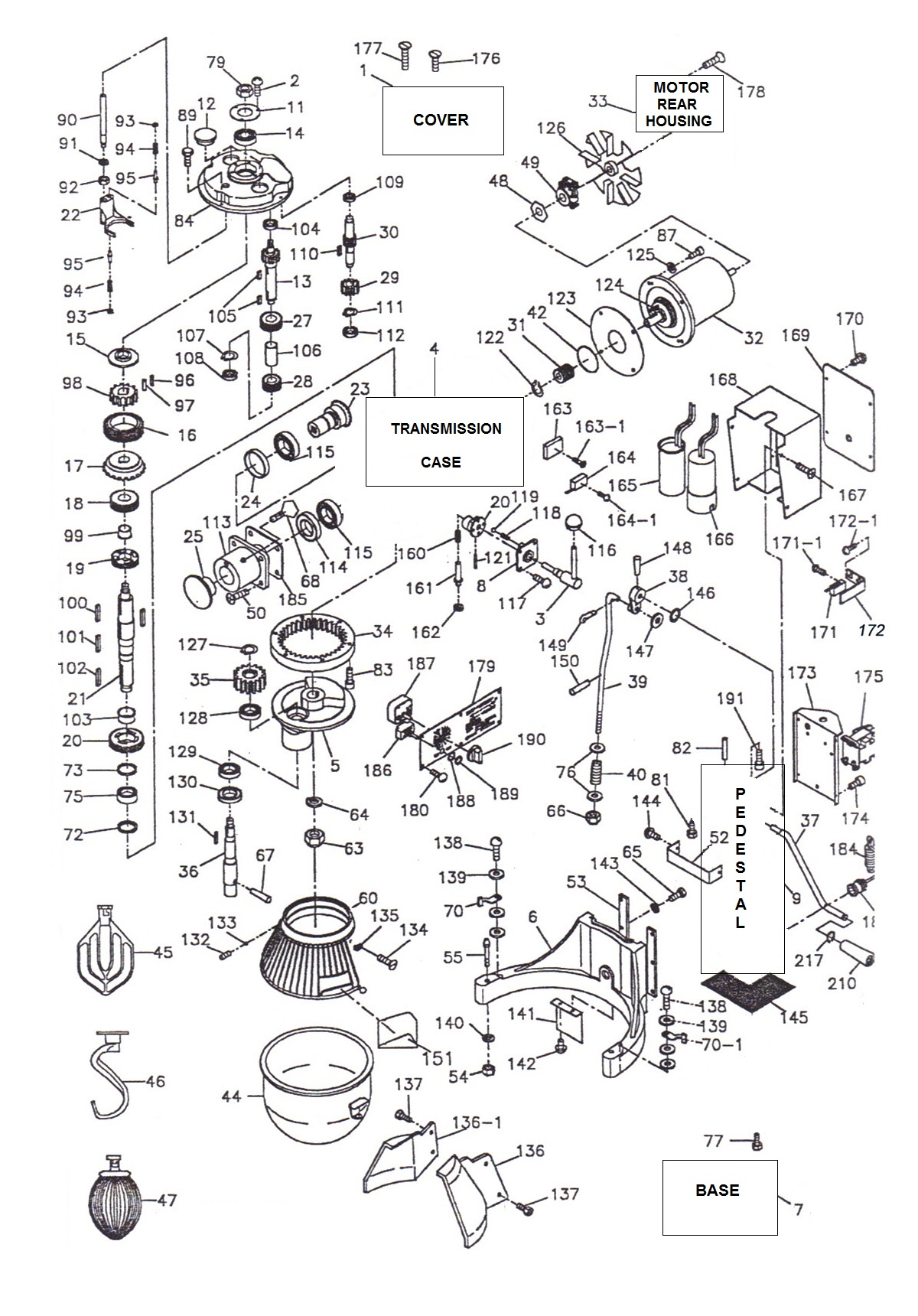 wiring diagrams of 1965 buick riviera part 2