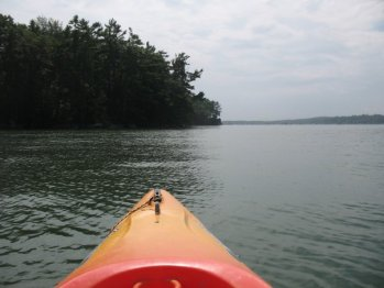 Kayaking in Maine