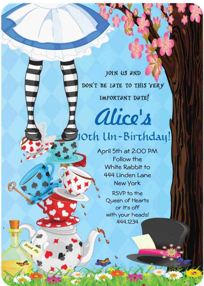 How To Choose 3d Wallpapers Printer 100 Alice In Wonderland Party Ideas By A Professional