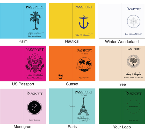 party passport template - Funfpandroid - free passport template for kids