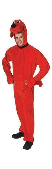Clifford The Big Red Dog Deluxe Adult Costume - PartyBell.com