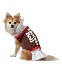 Tootsie Roll Dog Costume - PartyBell.com