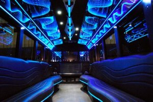 20 people party bus interior new orleans