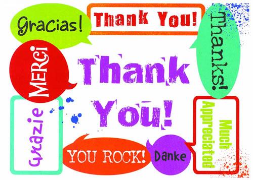 Cartão de Agradecimento - Convites de Aniversário - Artigos para