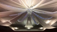 Wedding Decorations - Ceiling Drapes - Wedding Services