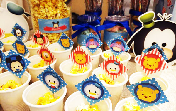 Theme Candy Table For Kids Birthday Party Party Fiestar