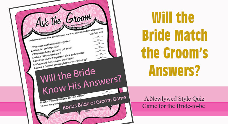18 Ask the Groom Questions
