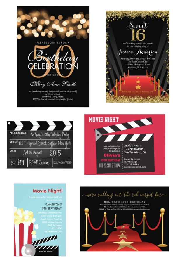 Hollywood Nights Movie Theme Party PartyIdeaPros