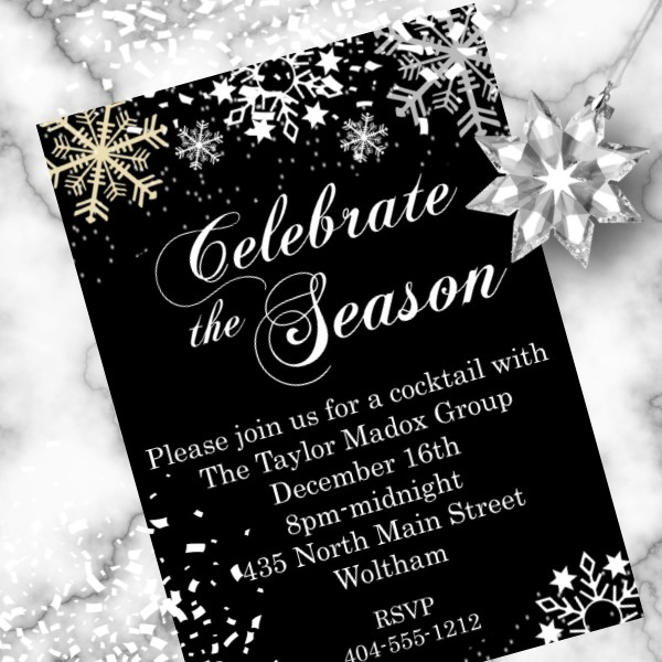 Party Invitations Printed or Digital Newly Designed 2019
