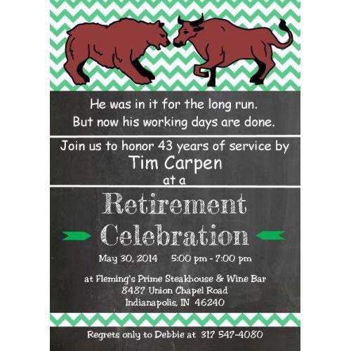 Medium Crop Of Retirement Party Invitations