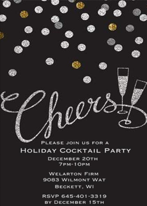Medium Of Holiday Party Invitations