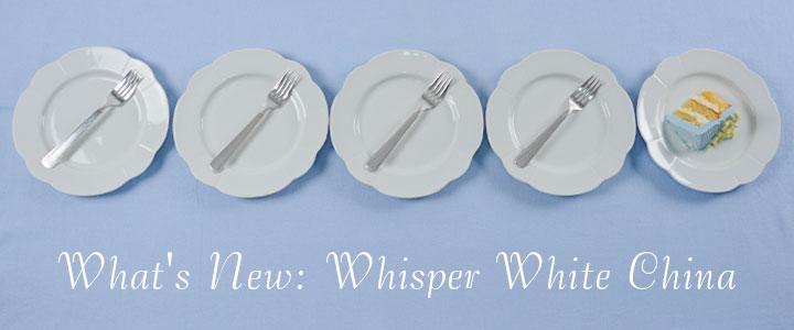 Party Rental Ltd; Whisper White