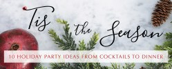 Party Rental Ltd - Holiday Party & Event Ideas 2016