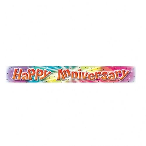 Happy Anniversary Banner - The Party Shop Donnybrook