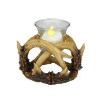 Deer Antler Votive Candle Holder | Hunting | Lodge ...