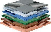 Huso Kunststoff-Bodenplatten