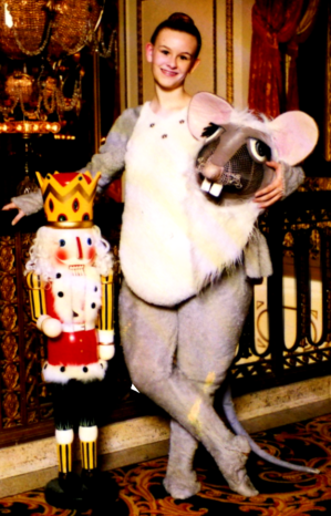My Daughter as a Nutcracker Mouse