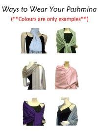 How To Wear A Pashmina Wrap
