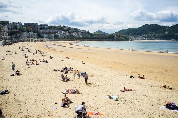Passagem Gastronômica - Praia - Roteiro de San Sebastian - Espanha