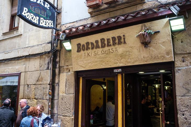 Passagem Gastronômica - Bordaberri - Pintxos Bar em San Sebastian