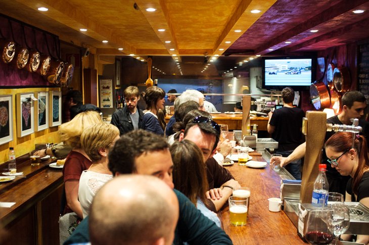 Passagem Gastronômica - Cuchara de San Telmo - Pintxos Bar em San Sebastian