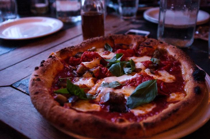 Passagem Gastronômica - Pizza - Pizza East - Notting Hill -  Londres