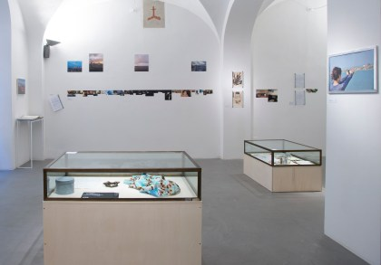 1.	Mariagrazia Pontorno, Everything I Know / Volume 2 - Floating Lab, veduta della mostra