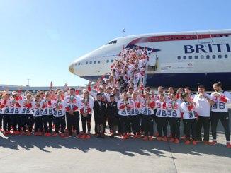 British Airways flies 'VictoRIOus' Team GB home