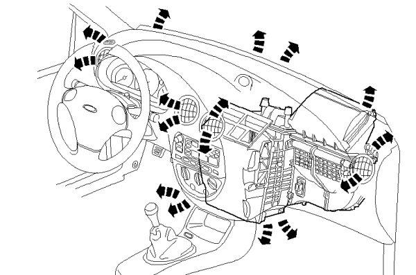 ford focus 2 3 Schema moteur