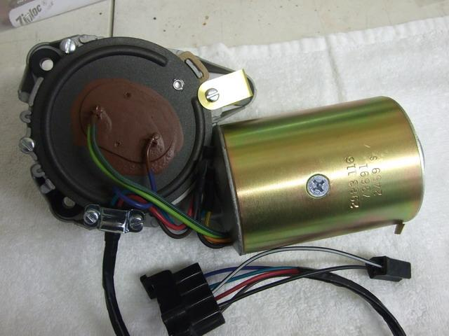 Mopar Premium Restored A/B Body 3 Speed Wiper Motor