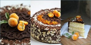 Chocolate Orange Almond Gateau