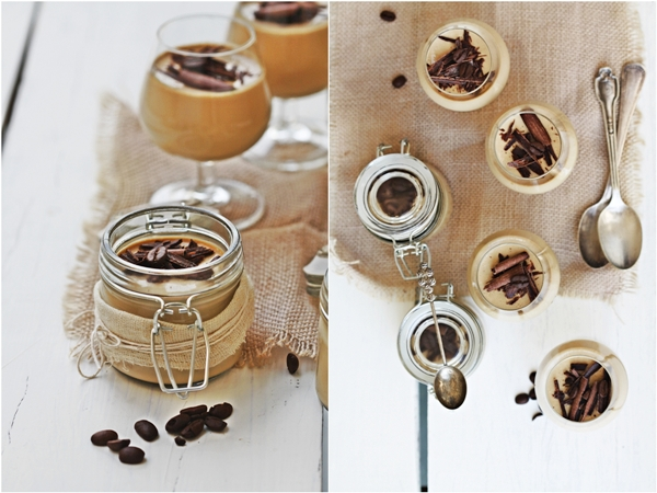Bru Coffee Panna Cotta