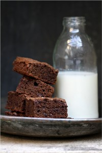 Wholewheat Double Chocolate Brownies 4