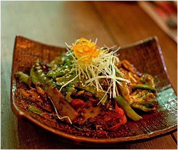 Wok Tossed Exotic Teppan Vegetable
