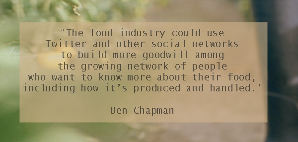 New social media and the food industry