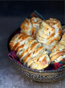 Chicken Quark Crossover Puff Pastry