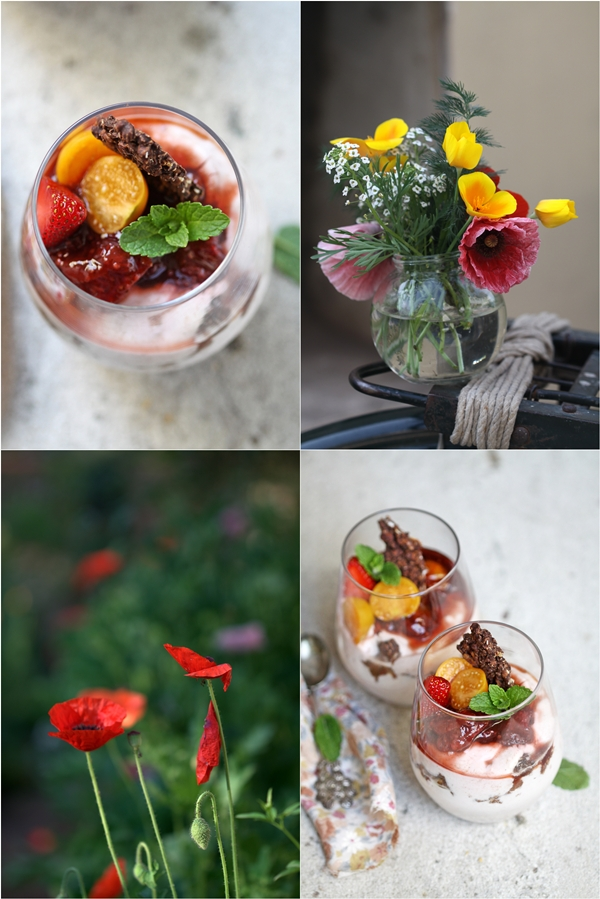 Strawberry & Cape Gooseberry Quark Mousse