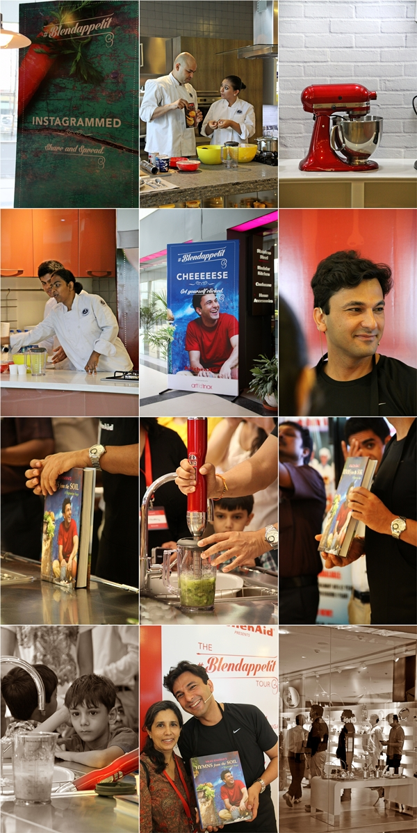 Kitchenaid Blendappetit  with Vikas Khanna Hymns from the Soil