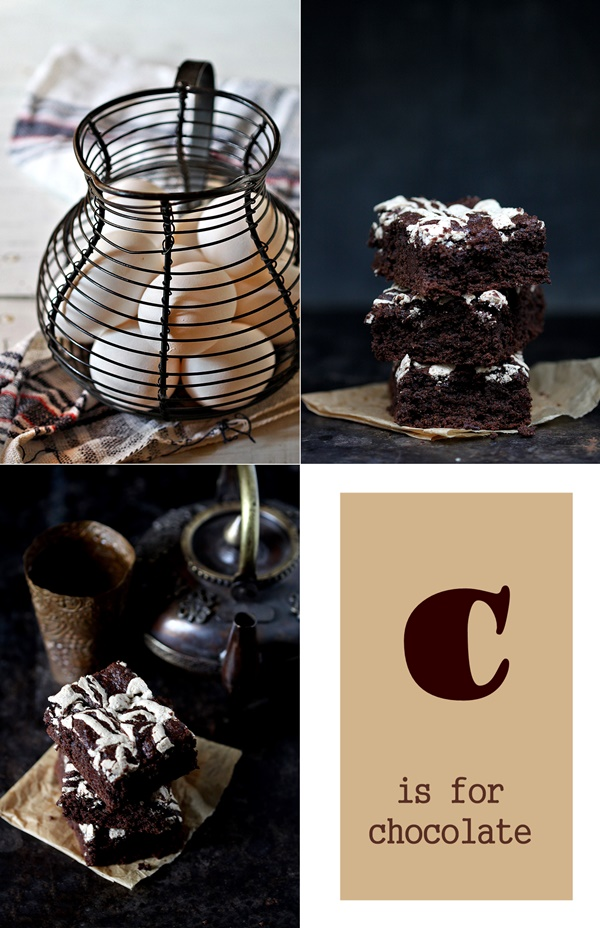 Dark Chocolate Wholegrain Brown Sugar Cake
