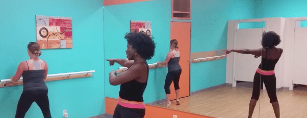 how to conquer love handles at the barre