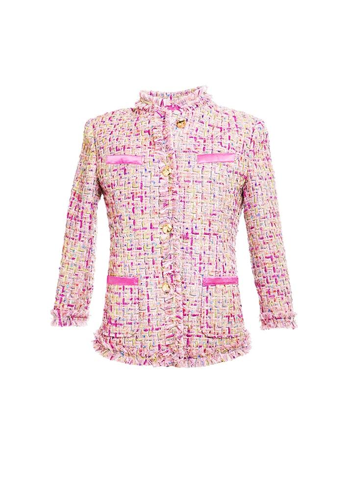unique classic pink jacket Carina Chanel - PassionForColors