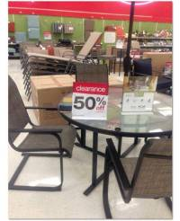 50% off All Summer Outdoor Furniture at Target!