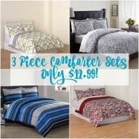 3 Piece Bedding Sets just $12.99!