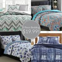 Macy's 3 Piece Bedding Sets just $19.99!