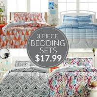 HOT! Macy's 3 Piece Bedding Sets $17.99!
